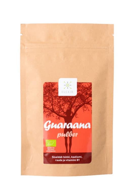 Guaraana pulber sobib tarvitada erinevat liiki füüsilise tegevuse korral, kus on pidevalt suured koormused, kus vajatakse energiat ja tähelepanu.